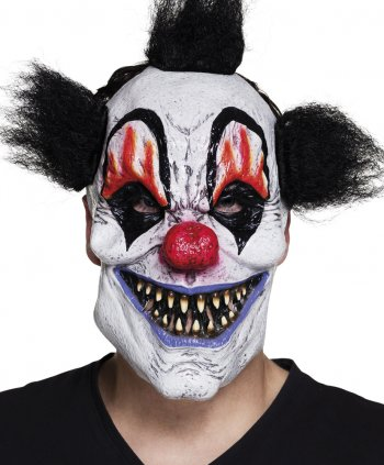 Masque Scary Clown - Latex