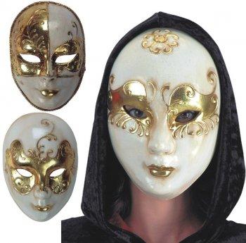 Masque Cartonné Or