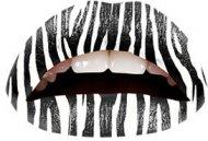 Tatouage de lèvres Zèbre