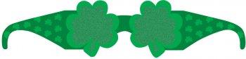 6 Lunettes en Carton St Patrick
