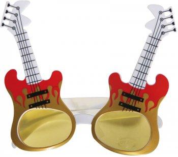 Lunettes Guitare électrique on fire