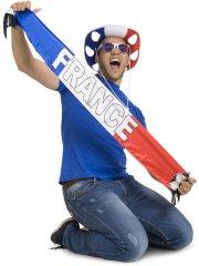 Echarpe France Tricolore