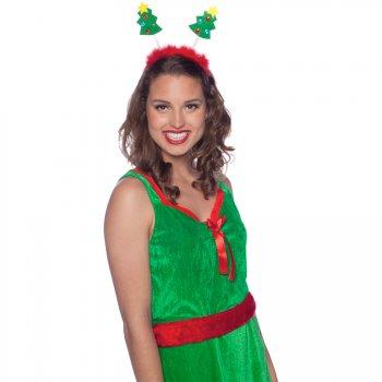 Serre-Tête Antennes Sapin de Noël