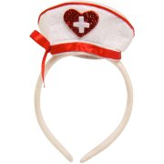 Serre-Tête Mini Chapeau Infirmière