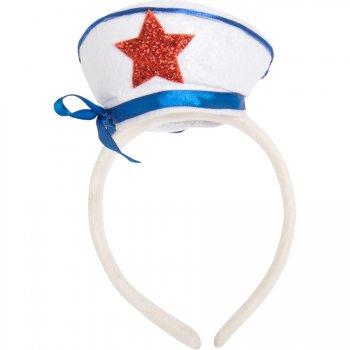 Serre-Tête Mini Chapeau Marin