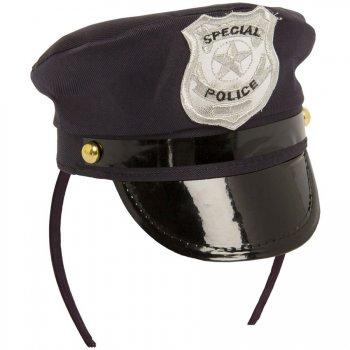 Serre-Tête Mini Casquette Police
