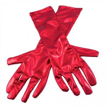 Gants Longs (40 cm) - Rouge Métal