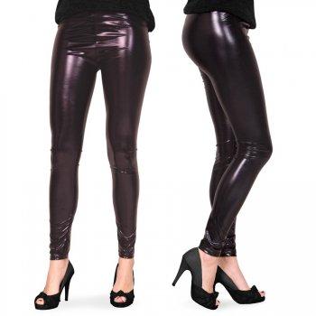 Legging Noir Métal Taille S-M