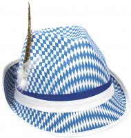 Chapeau Bavarois Bleu/Blanc