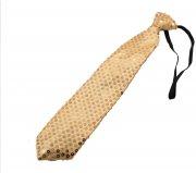 Cravate Sequin Or Led