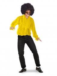Chemise Disco Jaune Taille M-L