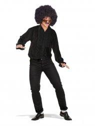 Chemise Disco Noire Taille M-L