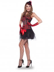 Déguisement Robe Moulin Rouge Taille S-M