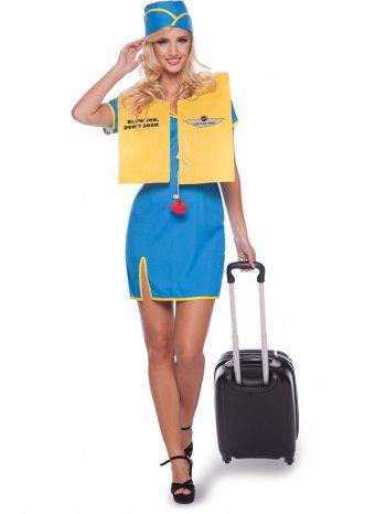 Déguisement Hotesse de l Air Taille L-XL