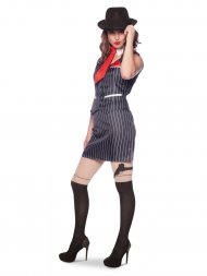 Déguisement - Gangster Mafia Femme Sexy (Taille S-M)