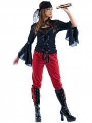 Déguisement de Pirate Gothique Femme