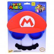 Lunettes Moustache Déguisement Mario Adulte