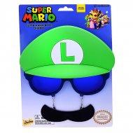Lunettes Moustache Déguisement Luigi Adulte
