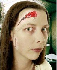 Set maquillage Cicatrices fermeture éclair