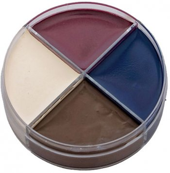 Crème maquillage 4 couleurs Cadavre