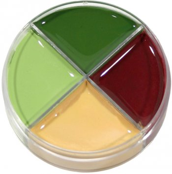 Crème maquillage 4 couleurs Monstre