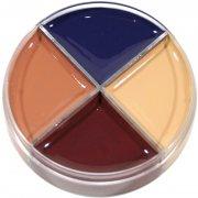 Crème maquillage 4 couleurs Extrême