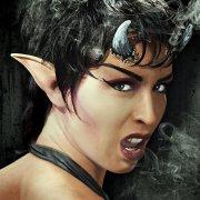 Maquillage latex Oreilles de démon