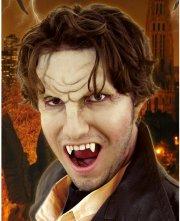 Maquillage latex Front de Vampire