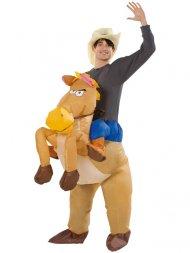 Déguisement Gonflable Monture Cowboy Taille Unique