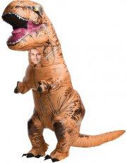 Déguisement Dino Gonflable T-Rex Taille Unique