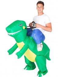Déguisement Gonflable Monture Dino Raptor Taille Unique