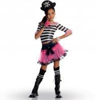 Déguisement Miss Pirate Gothique - enfant