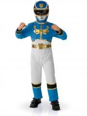 Déguisement de Power Rangers Bleu Megaforce Taille 7-8 ans
