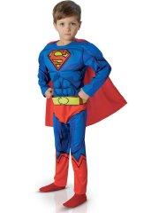 Déguisement de Superman enfant - Luxe