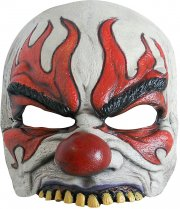 Demi-masque Clown furieux