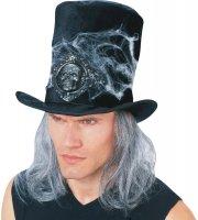 Chapeau de Sorcier avec Cheveux