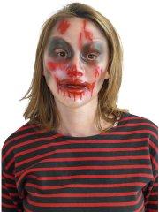 Masque transparent Femme blessée