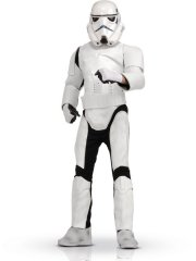Déguisement adulte Stormtrooper - Star Wars luxe - Taille unique
