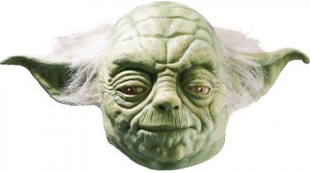 Masque adulte Yoda - Star Wars Latex luxe
