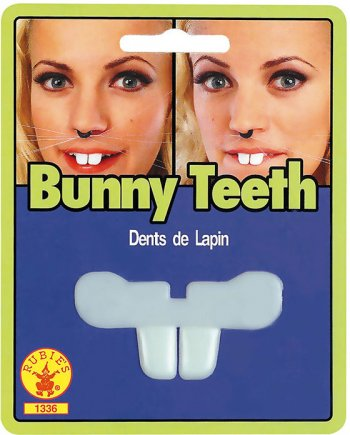 Dentier 2 Dents Lapin
