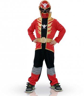 Déguisement Power Rangers rouge Super megaforce