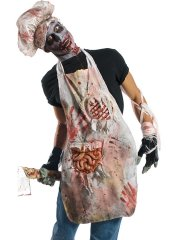 Tablier de boucher zombie