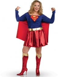 Déguisement Supergirl Sexy - Grande Taille 44/46