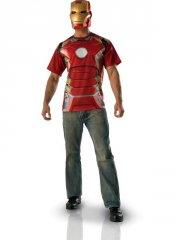 Set Tee shirt et Masque Iron Man Avengers