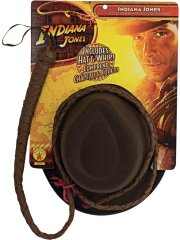 Set Chapeau et Fouet Indiana Jones