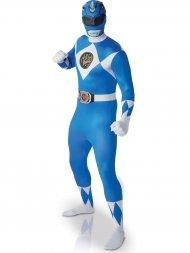 Déguisement Seconde Peau Power Rangers Bleu Taille L
