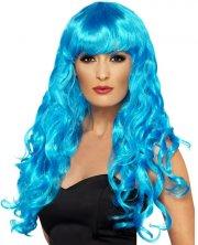 Perruque Siren Bleue