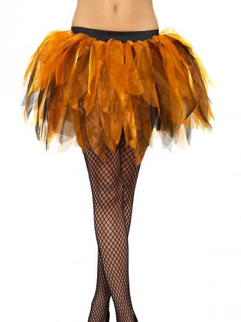 Tutu Citrouille Orange/Noir