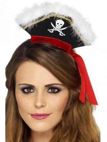 Petit Chapeau Pirate sur serre-tête