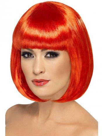 Perruque Crazy Color Rouge Flamboyant